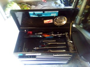Craftsman tool box with snap on tools for Sale in Vancouver, WA