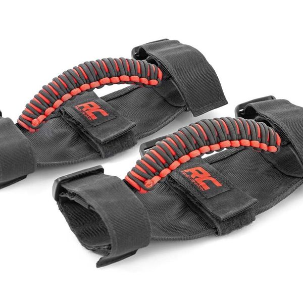 CORDED UNIVERSAL GRAB HANDLES ... RZR .. CAN AM .. JEEP .. SUV ..... CENTRAL TIRES