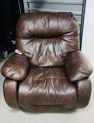 Brown leather recliner for Sale in Denver, CO