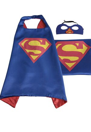 🥰🥰🥰 Kids Superhero cape and mask set on amazon with free shipping for Sale in Port St. Lucie, FL