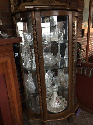 Antique oak cabinet for Sale in Smyrna, TN