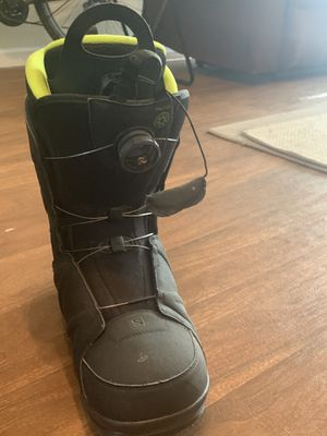 Salmon snowboard boots. for Sale in Denver, CO