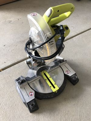 """Ryobi compound mitre saw with 7 1/2"""" blade. for Sale in McDonald, PA"""