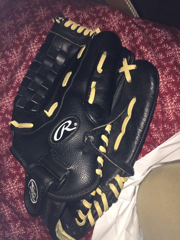 Nice softball glove