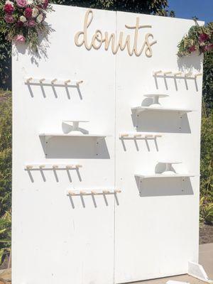 Rustic donut wall for Sale in Rialto, CA