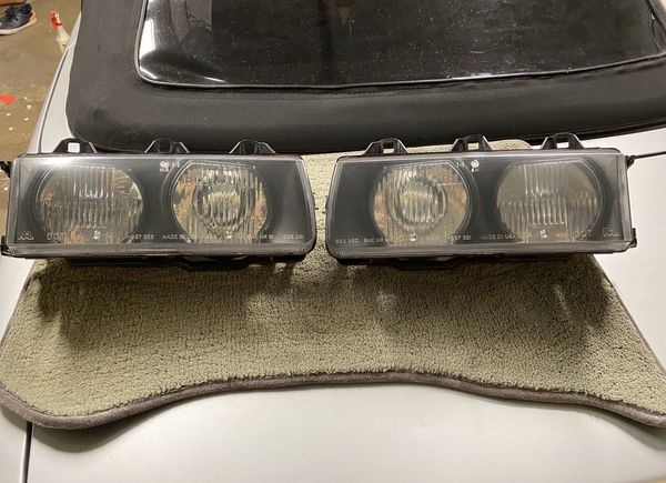 BMW E36 OEM HEADLIGHTS