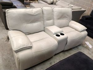 Montrose Italian leather sofa for Sale in Decatur, GA