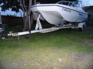 Mercury Outboard Motor 85 hp W/ Boat & Trailer for Sale in Philadelphia, PA