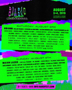 2 day wristbands for HARD SUMMER for Sale in Baldwin Park, CA