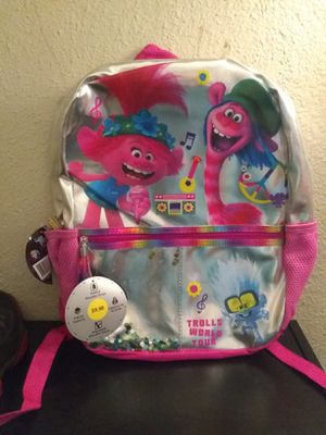 Trolls (Princess Poppy) Backpack for Sale in Fresno, CA
