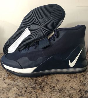 Nike Air Force Max '19 TB PROMO Basketball Shoes Navy AR4095-407 Size 10.5 NEW for Sale in Bristol, PA