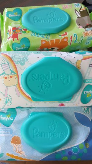 Pamper Baby Wipes $2 each or 3x$5 for Sale in Los Angeles, CA