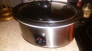Stainless steel crock pot for Sale in Langhorne, PA