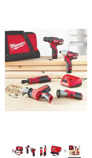 Milwaukee 5 tool combo kit for Sale in San Bruno, CA