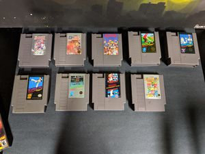 Nintendo NES Games for Sale in San Mateo, CA