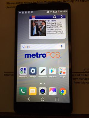 LG STYLO PLUS MS550 METROPCS good condition. for Sale in Boston, MA