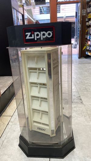 Zippo display for Sale in San Diego, CA