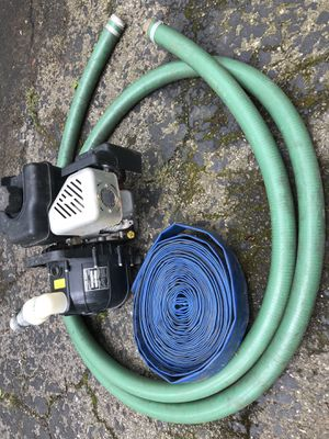 2 inch Transfer pump with hoses. for Sale in Columbus, OH
