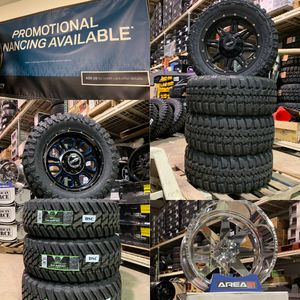 0 Percent 1 year Financing Wheels Tires Suspension Packages for Trucks Jeeps for Sale in Joliet, IL