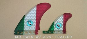 👑👑👑Cardiff_Fin_co custom SURFBOARD FINS MR TWINS, Quads for Sale in CA, US