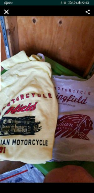 Indian Motorcycle T-Shirt Lot for Sale in Essington, PA