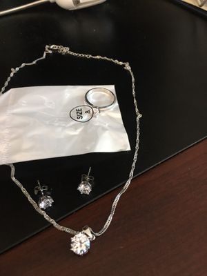 Real Silver set for women for Sale in Wimauma, FL