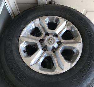 4 Bridgestone tires (under 2k miles) P265/ 70R17 / 113S for Sale in Austin, TX