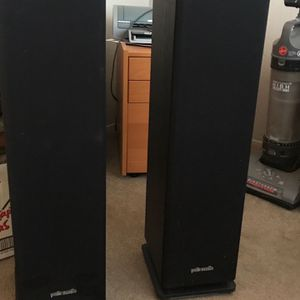 Vintage Polk audio speakers for Sale in San Diego, CA