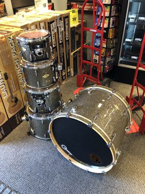 "Pearl Masters Drum Set - Pewter Glass - 24"", 10"", 12"", 14"", 16"" for Sale in Dallas, TX"