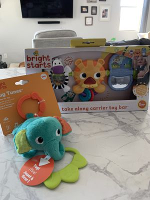 Bright Starts Baby Toy Carrier Bundle for Sale in Surprise, AZ