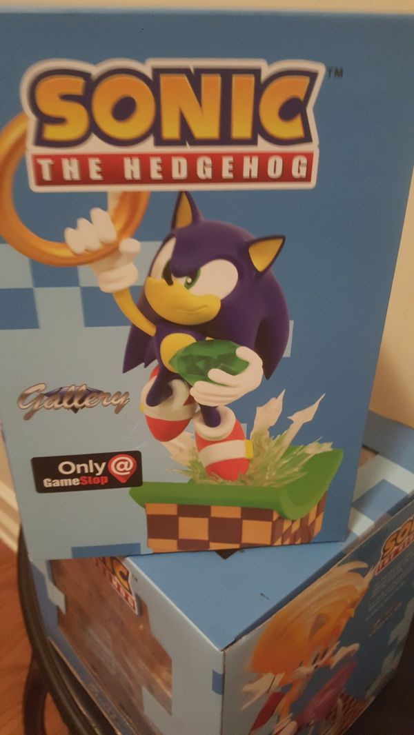 "2 Sonic The Hedgehog SONIC & Tails Statues by SEGA ""DIAMOND SELECT "" Edition"