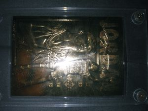Jordan 23 karat gold card for Sale in Pasadena, CA
