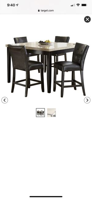 Brand new kitchen table never used still in the box for Sale in Manteca, CA