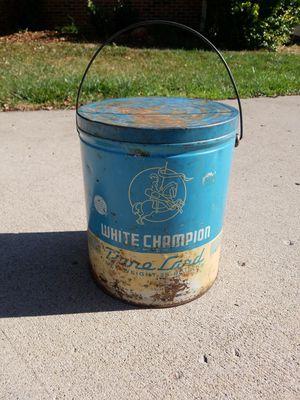 Old Metal Lard Tin for Sale in Noblesville, IN