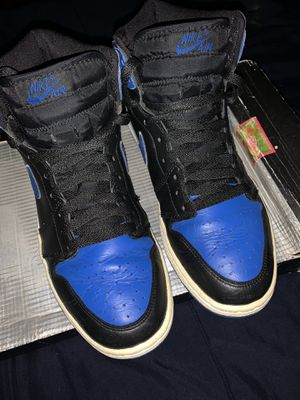 Jordan 1 2001 bred & royals and Nike dunk 2004 for Sale in Los Angeles, CA