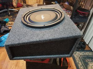 "12"" skar audio slim subwoofer for Sale in Sterling, VA"