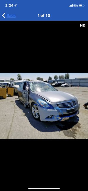 2013 Infiniti G37 parting out for Sale in Rancho Cordova, CA