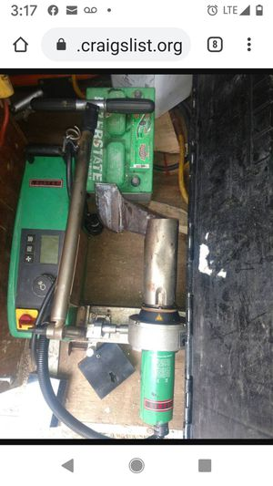 Leister varimat 2 roofing welder for Sale in Mount Airy, MD