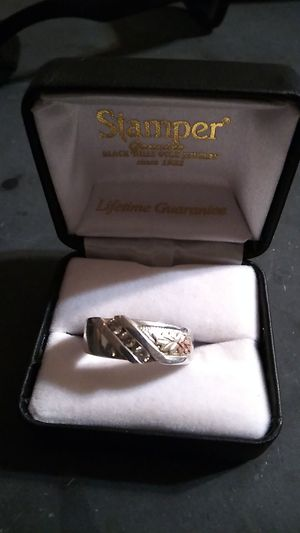 Black hills gold men's wedding ring for Sale in San Andreas, CA