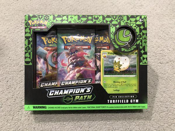 Champions Path Pokemon Turffield Gym