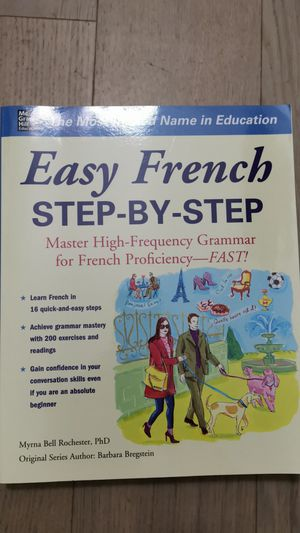 Easy French Step by Step for Sale in New York, NY