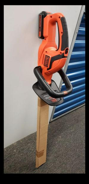 New Cordless Black and Decker 20v Weed Wacker and Hedge Trimmer for Sale in Washington, DC