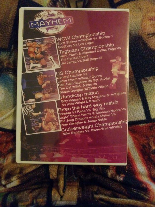 Wcw Mayhem 2000/w Preshow