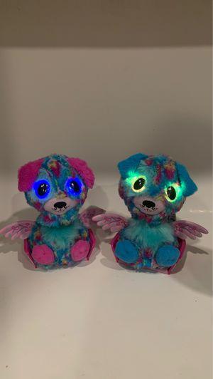 Rare twin Hatchimal puppadees toys r us for Sale in Covington, LA