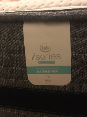 Serta mattress/box springs with frame for Sale in New York, NY