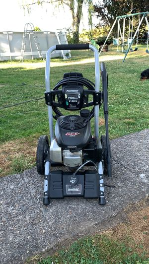 Honda pressure washer 2800 psi 2.4 gpm. for Sale in Mount Angel, OR