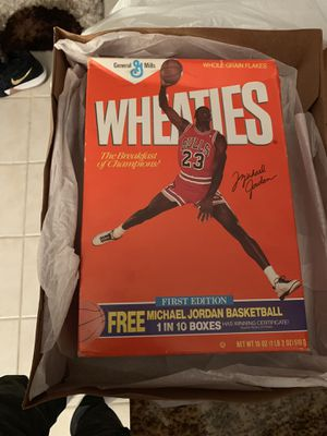 Michael Jordan Wheaties Cereal Box Never Opened for Sale in Crofton, MD