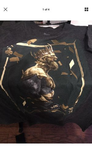 Men's UFC Notorious Conor McGregor T-shirts, size Large for Sale, used for sale  Union City, NJ