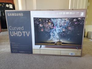 Smart TV Samsung curved screen 55 inches brand new 4K 2019 with Bluetooth 🔥 🔥 for Sale in Charlotte, NC