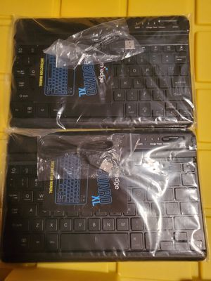 2 Medge bluetooth keyboards for tablets or computer for Sale in Chicago, IL